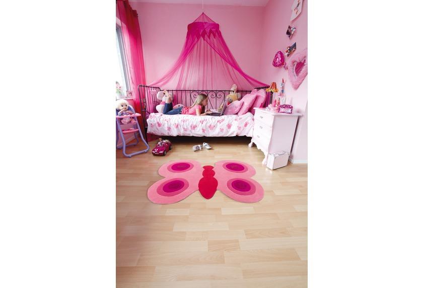 arte espina kinder teppich joy 4032 pink schmetterling tiere teppich kinderteppich bei tepgo. Black Bedroom Furniture Sets. Home Design Ideas