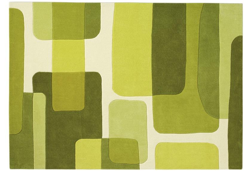 Arte Espina SPIRIT 135 grün  Designerteppich Moderner
