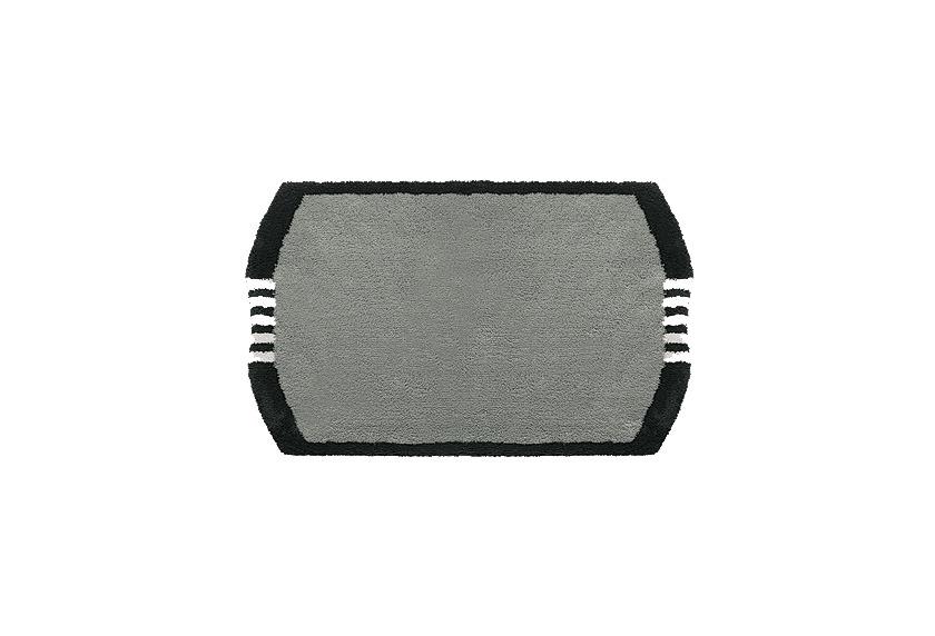 clarissa badematte monza grau dunkel schwarz wei 25. Black Bedroom Furniture Sets. Home Design Ideas