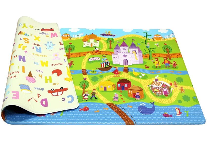 Dwinguler Spielmatte Fairy Tale Land 15mm 130×190 Teppich