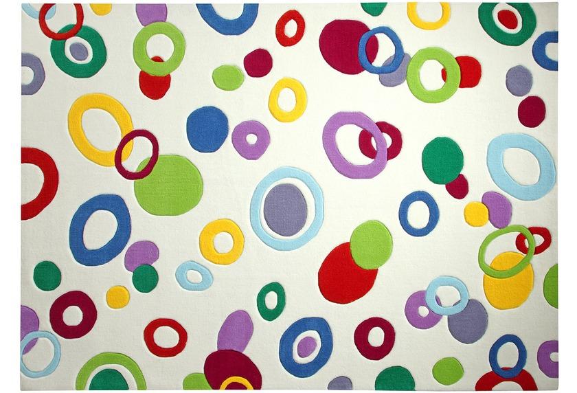ESPRIT Teppich, Bubbles ESP-3326-01 weiss