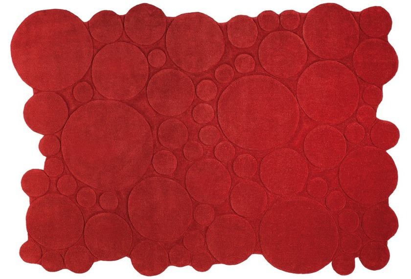 ESPRIT Teppich, Circle ESP-2818-02 rot