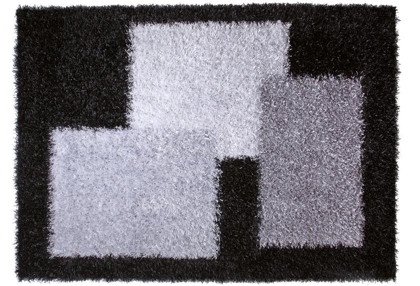 ESPRIT Hochflor-Teppich, Cool Glamour, ESP-9003-02 schwarz