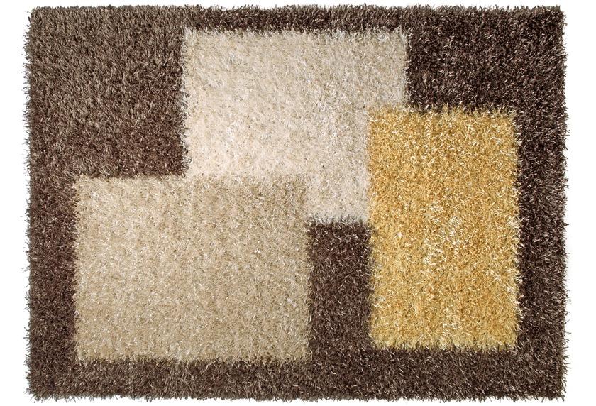 ESPRIT Hochflor-Teppich, Cool Glamour, ESP-9003-03 braun
