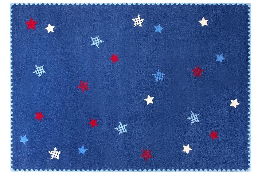 Kinderteppich esprit  ESPRIT Kinder-Teppich, Teppich, Space Stars ESP-8022-02 blau, Öko ...