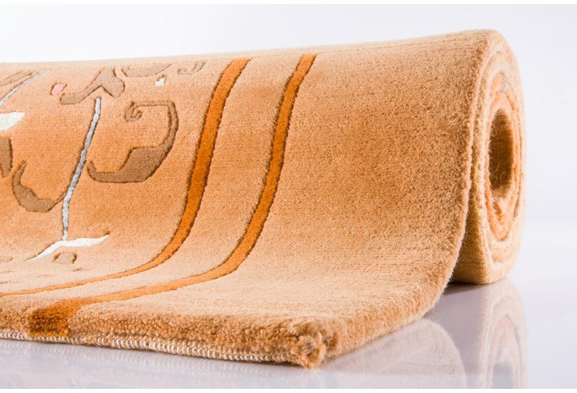 Ghorka exclusive NepalTeppich  206 sand Teppich