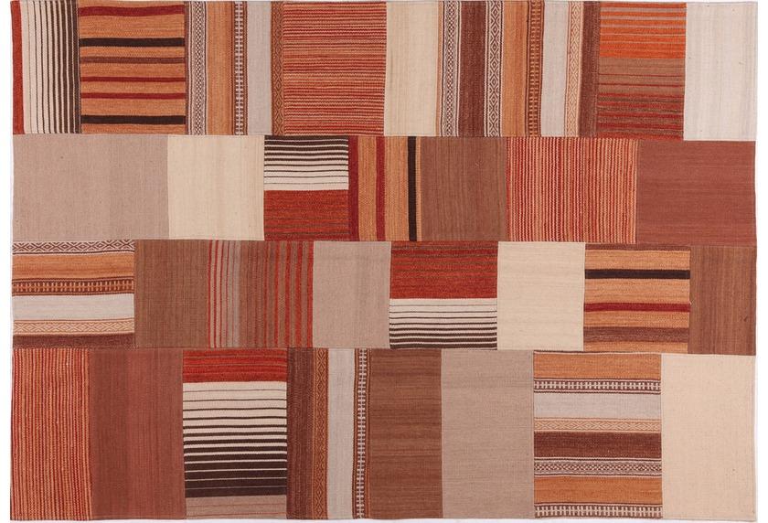 handgewebter Teppich MASH UP 2025 multi gemustert bei
