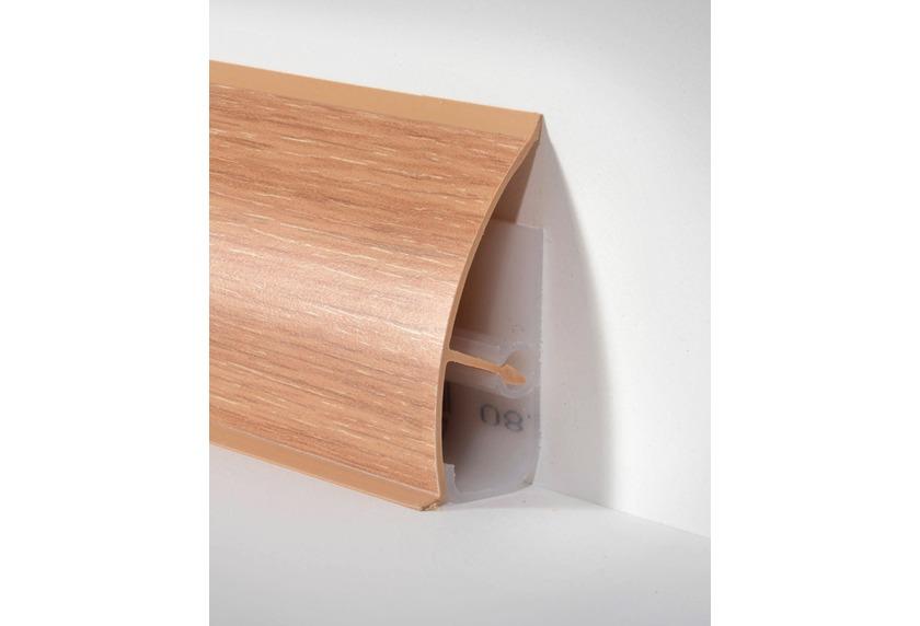 d llken md 63 systemsockelleiste dekorprofil w117 eiche gek paketinhalt 2 5 m bodenbel ge. Black Bedroom Furniture Sets. Home Design Ideas
