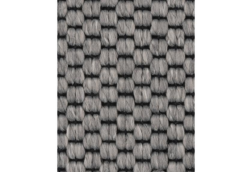 Teppichboden meterware  Hometrend Teppichboden Meterware Flachgewebe-Schlinge Grau ...