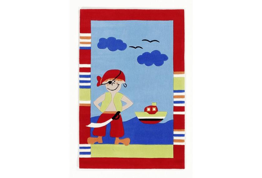 KiYou Kinderteppich Pirat BC-4544-01