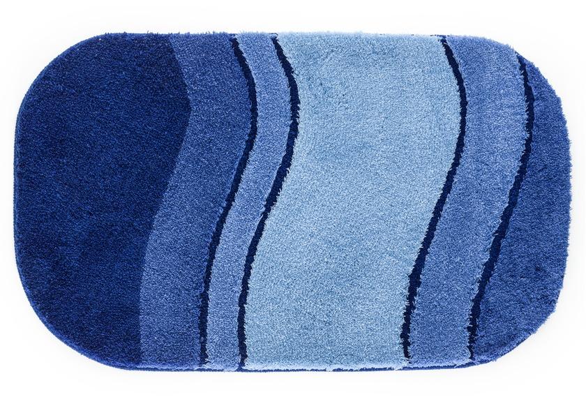 kleine wolke badteppich siesta sor azurblau ebay. Black Bedroom Furniture Sets. Home Design Ideas