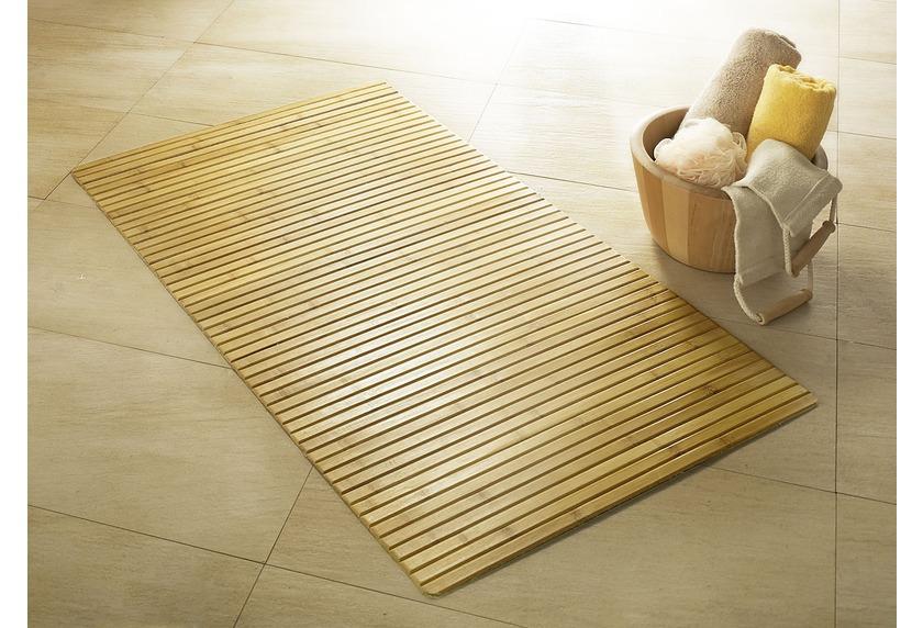 kleine wolke badteppich bambus natur ebay. Black Bedroom Furniture Sets. Home Design Ideas