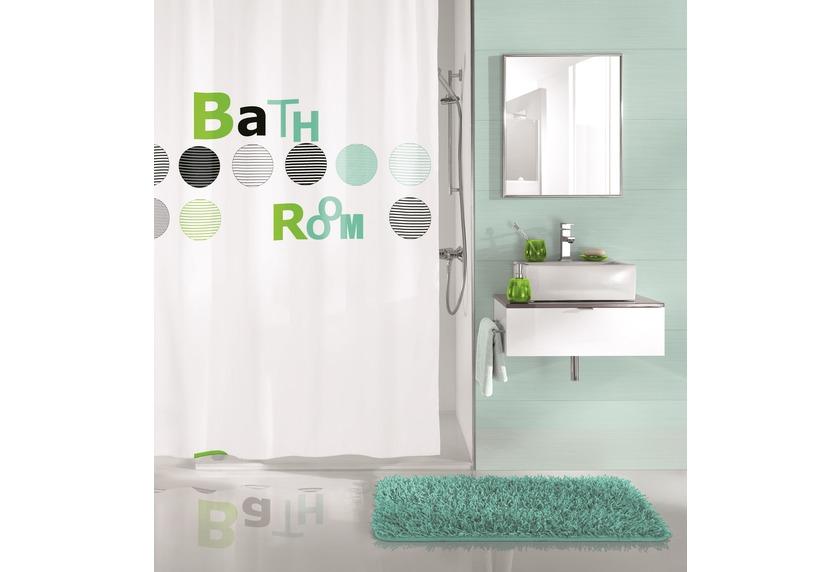 kleine wolke duschvorhang bathroom mint 180x200 cm. Black Bedroom Furniture Sets. Home Design Ideas