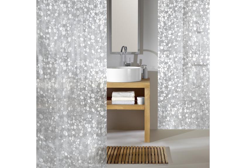 kleine wolke duschvorhang cristal clear 180 x 200 cm. Black Bedroom Furniture Sets. Home Design Ideas