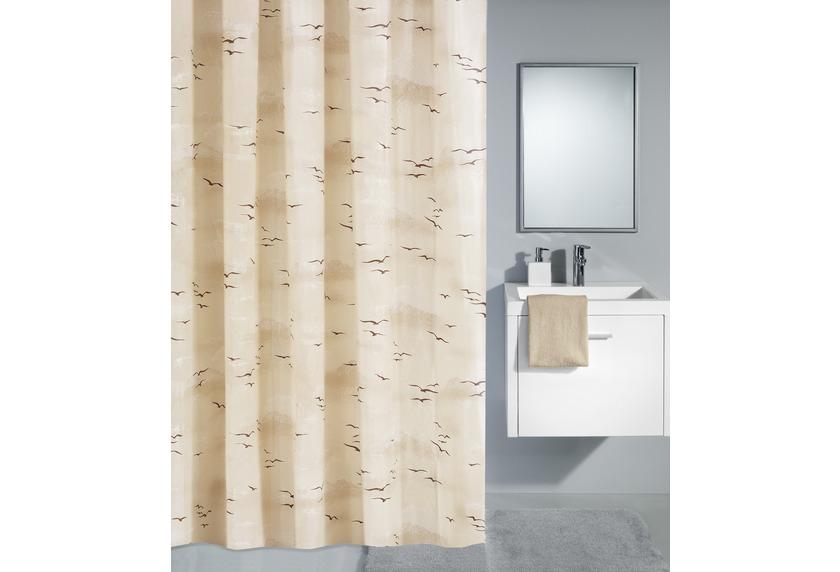kleine wolke duschvorhang sky caramel badaccessoires. Black Bedroom Furniture Sets. Home Design Ideas