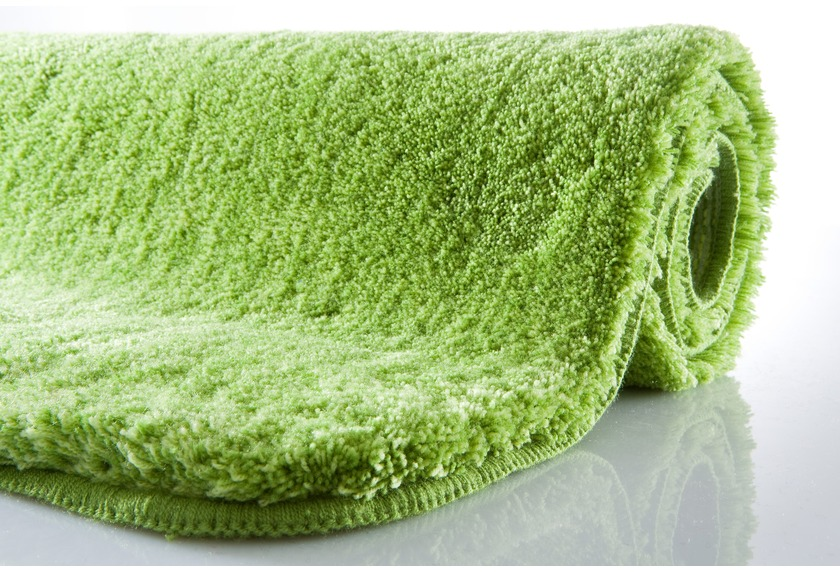 kleine wolke badteppich relax kiwigr n rutschhemmender r cken ko tex zertifiziert. Black Bedroom Furniture Sets. Home Design Ideas