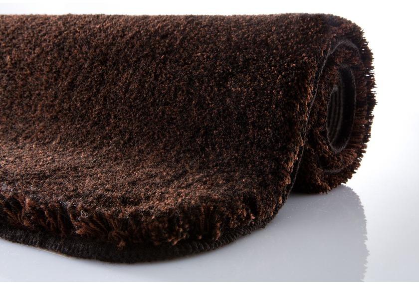 kleine wolke badteppich relax nussbraun rutschhemmender. Black Bedroom Furniture Sets. Home Design Ideas