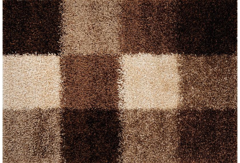Luxor Living Teppich Faenza Karo beigebraun Teppich