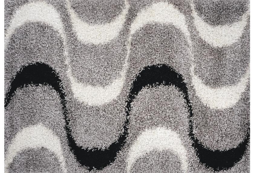 Luxor Living Teppich Faenza Welle schwarz-wei�