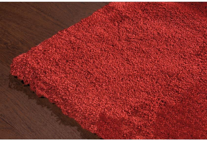 Luxor Living Hochflor-Teppich Monza rot
