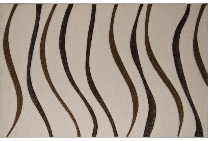 Luxor Living Teppich Ventus Carving bone 10821