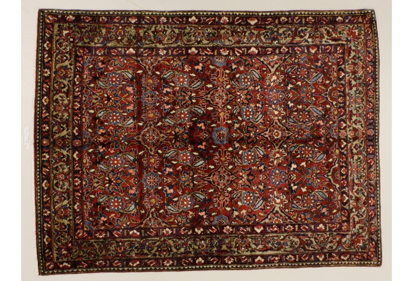 Oriental Collection Bakhtiar rot 76087, Perser-Teppich
