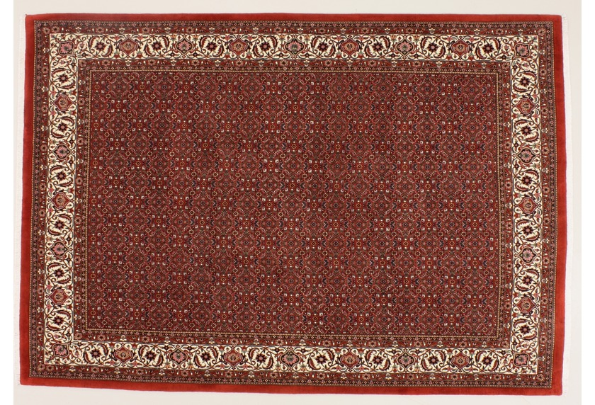 Oriental Collection Bidjar m.Seide rot 76034, Perser-Teppich
