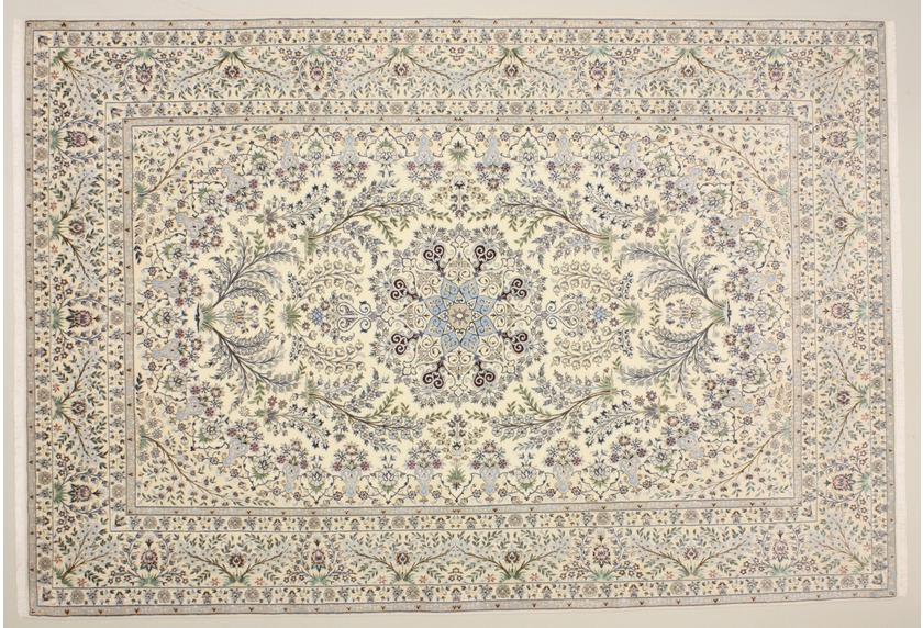 Oriental Collection Nain 6la beige 76007 Orient-Teppich