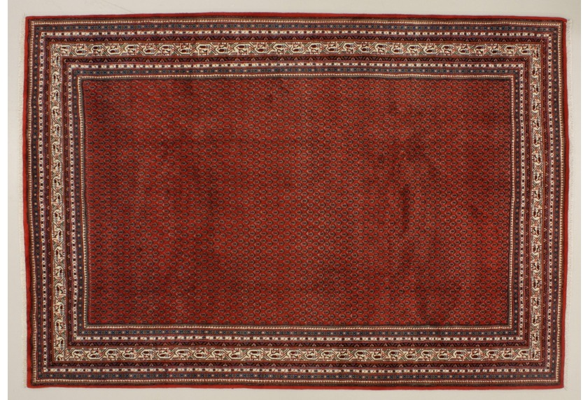 Oriental Collection Sarough Teppich Mir rot 75951