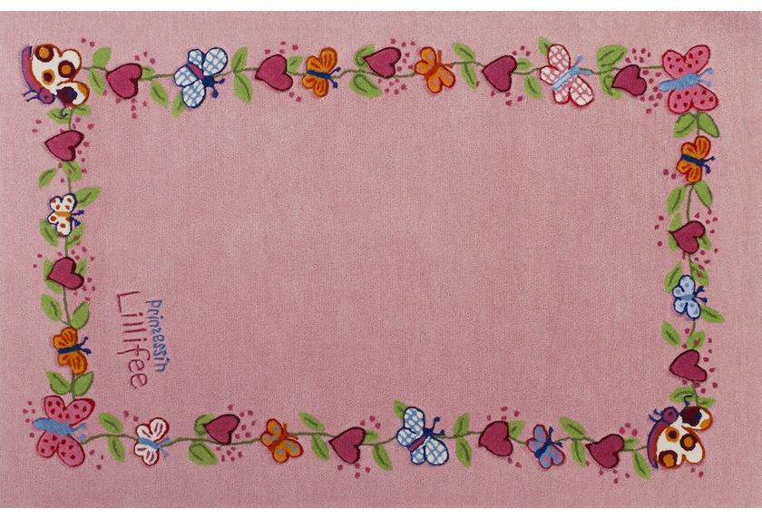 Prinzessin Lillifee Kinder-Teppich Blumenkranz �ko-Tex zertifiziert