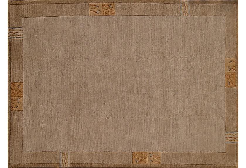 nepal teppich rama 322 beige reine schurwolle handgekn pft 10 mm florh he teppich. Black Bedroom Furniture Sets. Home Design Ideas