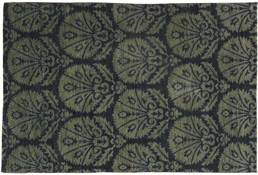 Schöner Wohnen Gabbeh-Teppich, Basanti, farn