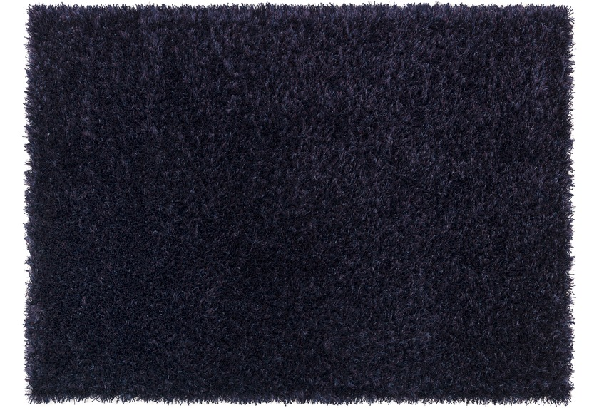 sch ner wohnen hochflor teppich feeling blau lila 55 mm. Black Bedroom Furniture Sets. Home Design Ideas