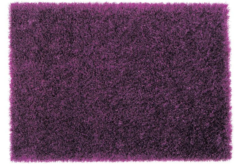 Sch�ner Wohnen Hochflor-Teppich, Feeling, violett, 55 mm Florh�he