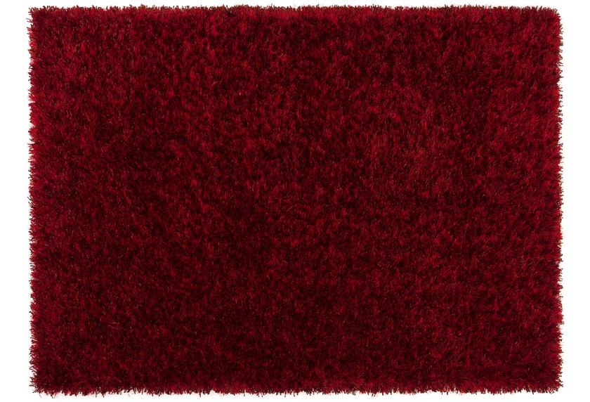 Sch�ner Wohnen Hochflor-Teppich, Feeling, burgund, 55 mm Florh�he