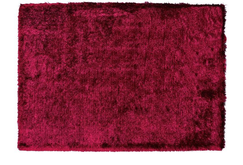 Sch�ner Wohnen Hochflor-Teppich, Jazz, burgund, 30 mm Florh�he