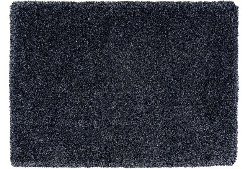 Schöner Wohnen Hochflor-Teppich, Pogo nachtblau