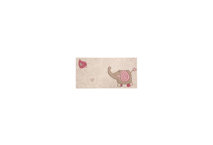 Sigikid Kinder Teppich, Happy Zoo, Elephant SK3342kl