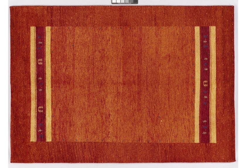Tadj,, Gabbeh Teppich, Teppich, 2123 rost, handgekn�pft mit argentinischer Schurwolle