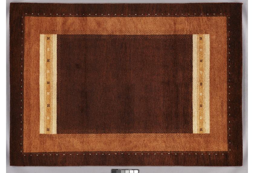 Tadj, Gabbeh Teppich, 234, terra, handgekn�pft mit argentinischer Schurwolle