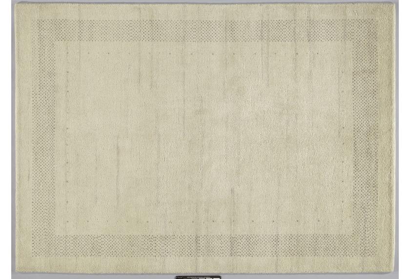 Tadj, Gabbeh Teppich, 2900 natur, handgeknüpft mit argentinischer Schurwolle