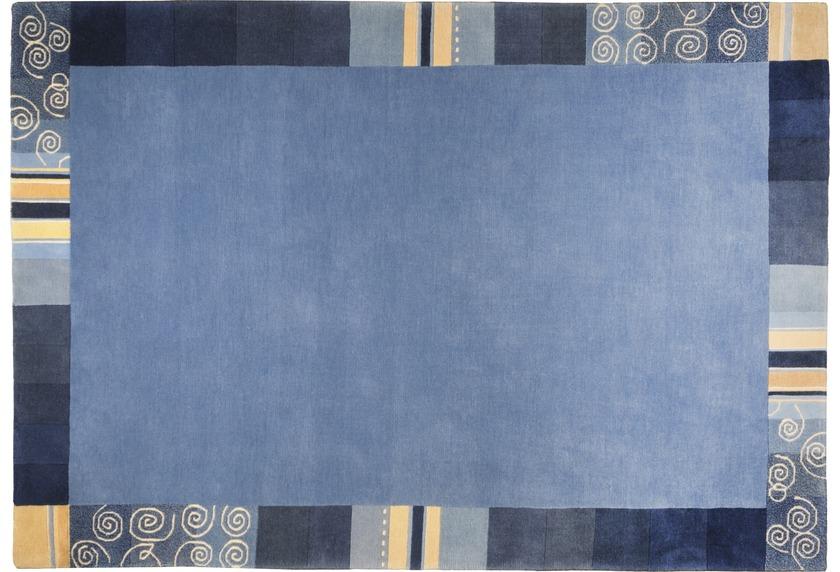 THEKO Everest TS204 blau Teppich Nepalteppich bei tepgo
