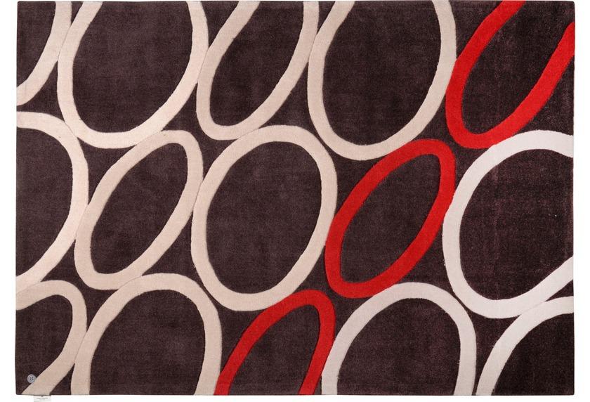 tom tailor teppich life oval rot angebote bei tepgo kaufen versandkostenfrei. Black Bedroom Furniture Sets. Home Design Ideas