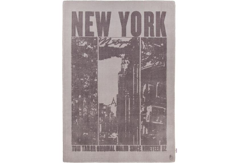 Tom Tailor Teppich Happy, New York, grau bei tepgo kaufen