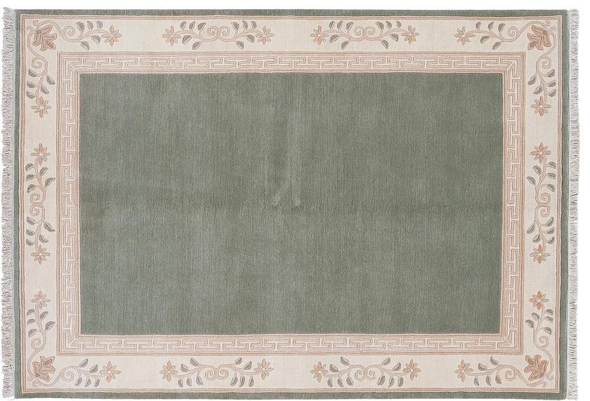 Luxor Living Nepal Teppich, Classica, 295, grün