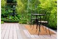 Andiamo In- und Outdoorteppich Bambus natur grob uni