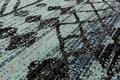 Andiamo In- & Outdoorteppich Bonnie blau-anthrazit gemustert