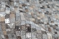 Arte Espina Teppich Finish 100 Grau / Silber Vintage/Patchwork