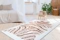 Arte Espina Teppich Rabbit Animal 400 Elfenbein / Taupe / Weiß