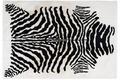 Arte Espina Teppich Rabbit Animal 400 Schwarz / Weiß
